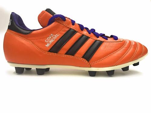 Adidas Copa Mundial Samba solar zest/black/blast purple