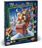 Schipper Malen nach Zahlen Weihnachtsbild 2014