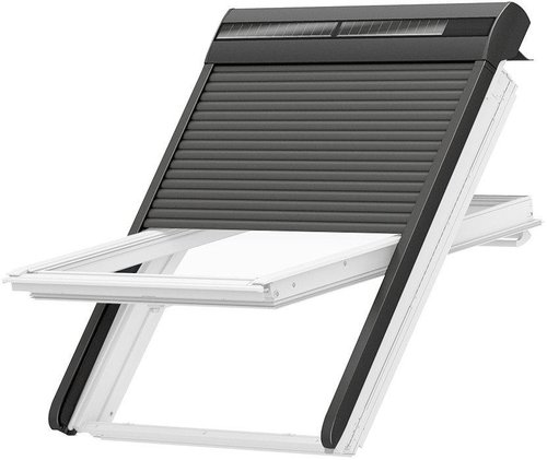 velux solar rollladen ssl mk06 0000s schon ab 446 kaufen. Black Bedroom Furniture Sets. Home Design Ideas