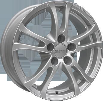 Anzio Wheels Turn (8x18) Silber-lackiert