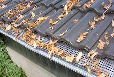 Westfalia Edelstahl Dachrinnenschutz 6 Platten 10 cm Tiefe