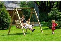 Delta Gartenschaukel Holz 2-Sitzer