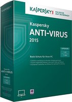 Kaspersky Anti-Virus 2015 Upgrade (1 User) (1 Jahr) (DE) (Win) (Box)