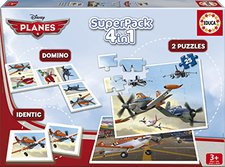 Educa Superpack Planes 4 en 1