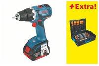 Bosch GSR 18 V-EC (2 x 4,0 Ah + L-BOXX)