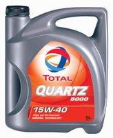 TOTAL Automotive Quartz 5000 15W-40 (5 l)
