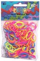 Rainbow Loom Gummibänder Neon Mix (600 Stück)