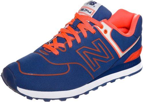 new balance 574 blau orange