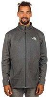The North Face Men's Hadoken Full Zip Fleece Jacket Asphalt Grey Heather
