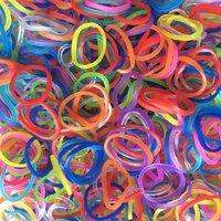 Rainbow Loom Gummibänder Jelly Mix Regenbogen