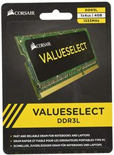 Corsair ValueSelect 4GB SO-DIMM DDR3 PC3-10600 CL9 (CMSO4GX3M1C1333C9)