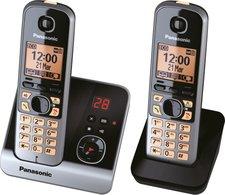 Panasonic KX-TG6722 Duo schwarz