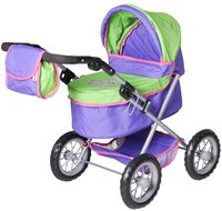 Knorr Puppenwagen One plum and green