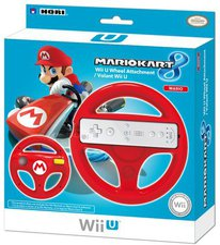 Hori Wii U Mario Kart 8 Wheel Attachment