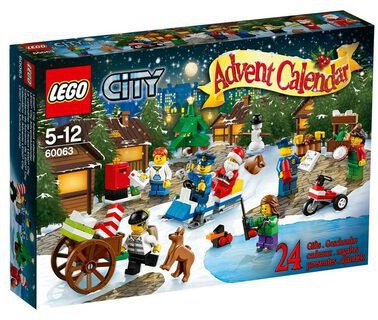 LEGO City Adventskalender 2014 (60063)