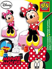 SES Figuren gießen Disney Minnie Mouse