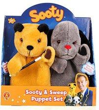 Golden Bear Sooty & Sweep Handpuppen Set