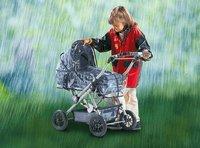 Bayer Chic Regenschutzhaube für Puppenwagen groß