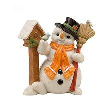 Goebel Schneemänner Hier ist Dein Häuschen