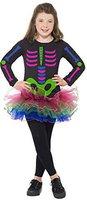 Smiffys Kinderkostüm Neon Skeleton Girl