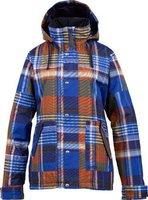 Burton Ginger Snowboard Jacket Cornflower Huntsman Plaid