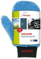 Alclear Ultra-Microfaser Waschhandschuh blau