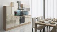 Respekta Küchenzeile Premium 280 cm Vanille-Akazie (RP280AVAC)