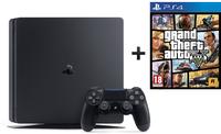Sony PlayStation 4 (PS4) 500GB + Grand Theft Auto 5 (GTA 5)