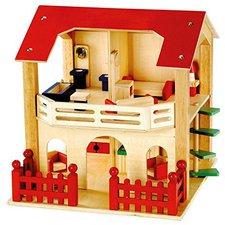 Bino Puppenhaus möbliert