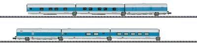 Trix Set 6 Schnellzugwagen Talgo Nachtzug DB (15550)