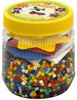malte haaning Plastic Dose mit Perlen und Stiftplatten (2056)