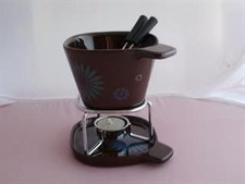 Pajoma Fondue-Becher-Set Flower