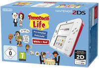 Nintendo 2DS weiß-rot + Tomodachi Life