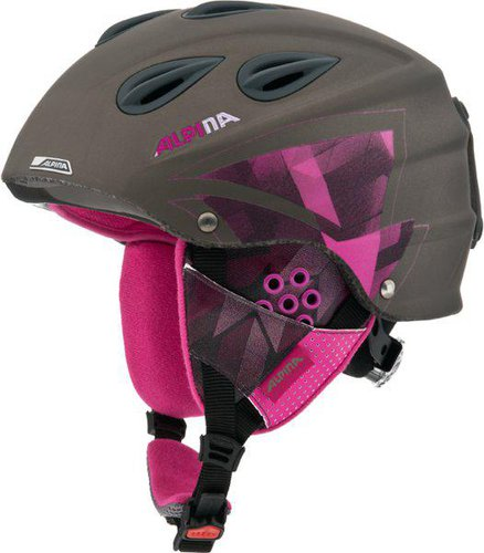 Alpina Grap titanium/pink matt