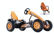 Berg Toys Gokart X-Cross orange BFR inkl. Soziu...