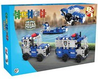 Clics Hero Squad - Police 8 in 1