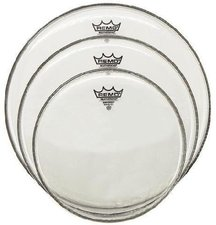 """Remo Emperor Clear Tom Pack (10 """", 12 """", 16 """")"""