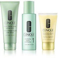 Clinique 3-Phasen-Systempflege Introductory Set Skin Type 1 (50ml + 100ml + 30ml)
