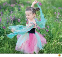 Trullala Blüten-Feenkleid mit Flügeln
