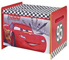 Worlds Apart Cars Fabric Toy Box