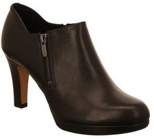 Clarks Amos Kendra black leather