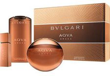 Bulgari / Bvlgari Aqva Amara Ancillaries Set (EdT + SG + Mini)