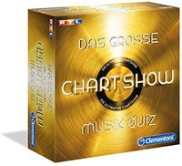 Clementoni Das große Chartshow Musikquiz