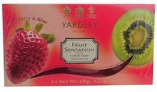 Yardley Fruit Sensation Seife (3x 100 g)