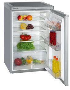 Bomann VS198 Kühlschrank silber