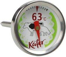 Käfer Analoges Grill- und Fleischthermometer für Rind und Lamm (T419S)