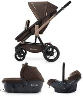 Concord Wanderer Travel-Set Chocolate Brown 2015