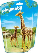Playmobil Giraffe mit Baby (6640)