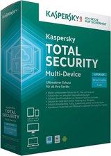 Kaspersky Total Security Multi-Device (DE) (Win)