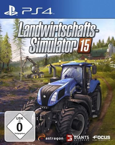 Landwirtschafts-Simulator 15 (PS4)